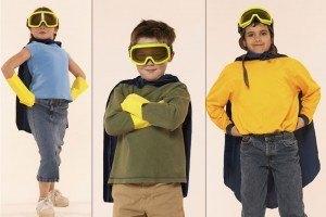 superhelden schatzsuche beim kindergeburtstag