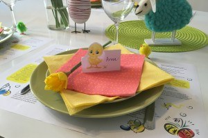 oster tischkarten zum familienfest