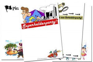 kostenlos einladungskarten kindergeburtstag