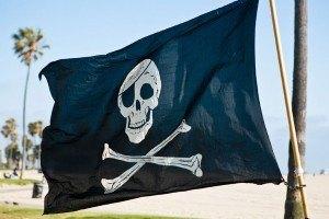 piraten motto zur kinderspiele schatzsuche
