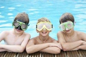 schnitzeljagd im schwimmbad