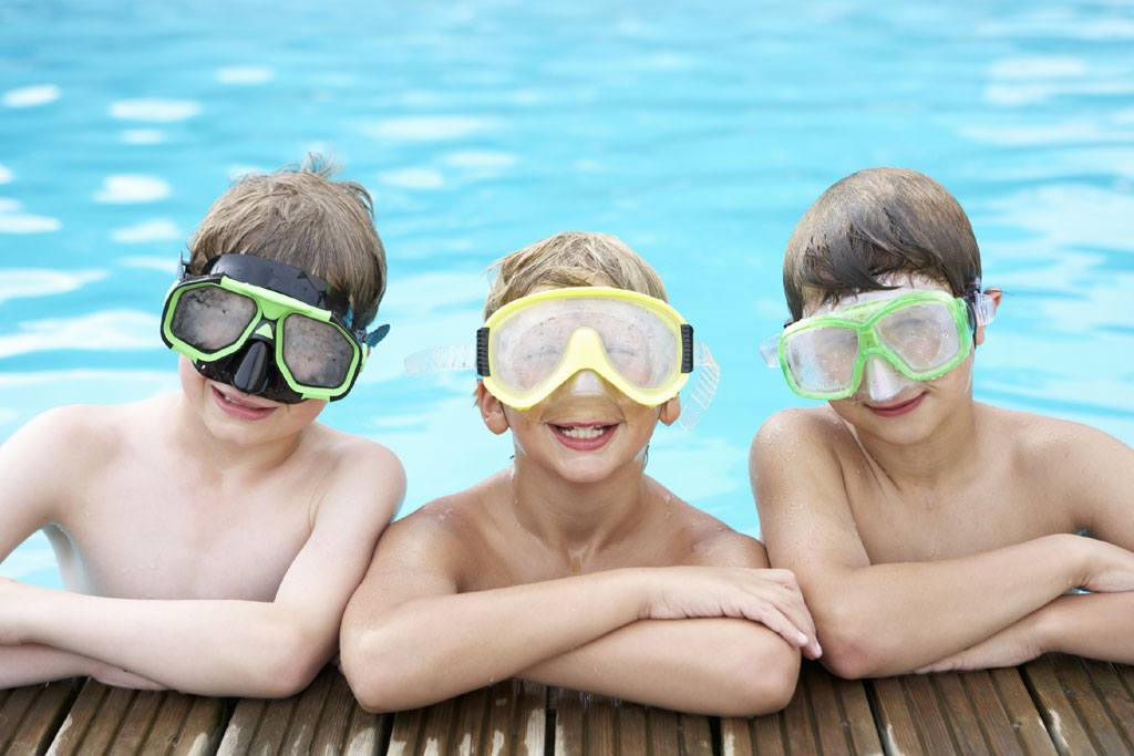 schnitzeljagd idee im schwimmbad
