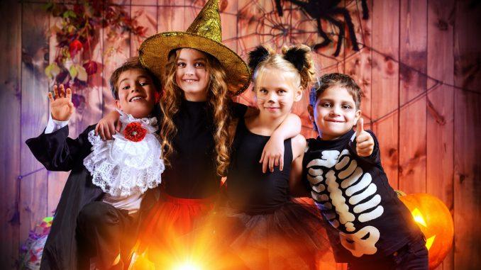 halloweenparty schnitzeljagd