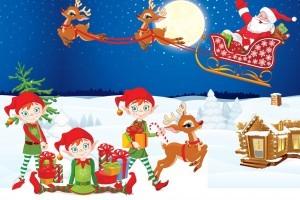 weihnachten schatzsuche zum kindergeburtstag